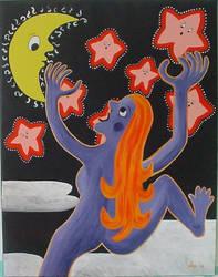 Little pink stars by gardoll