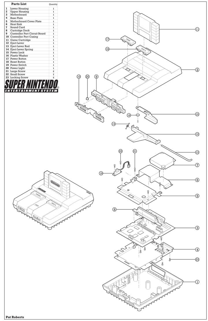 Super Nintendo Wiring Diagram Another Blog About Nes Controller