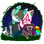 Toxic And Meeka by WaffooI