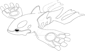 pokemon mega kyogre coloring pages - photo#15