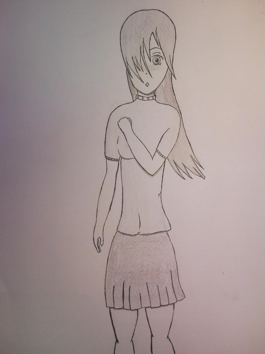 Drawing (Female body) by ziggystarhumper