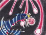 Garchomp's Draco Meteor by DDDbloodred