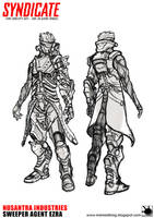 Syndicate Fan Concept Art to be 3D Game Model