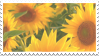 sunflower stamp by taishokun
