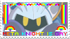 Meta Knight Is Gay stamp
