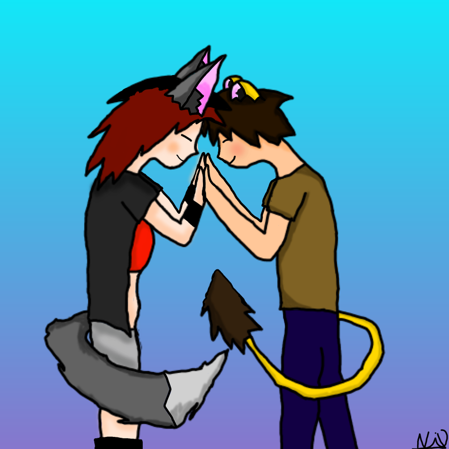 You are my everything (OC) by NixHowler