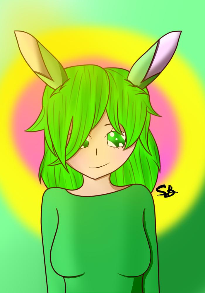 Sunny Bunny (Art Trade) by NixHowler