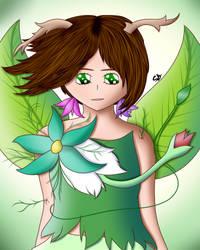 Flora (New OC) by DigitalPaintingWolf