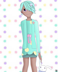 Pastel girl challenge! (challenge) by DigitalPaintingWolf