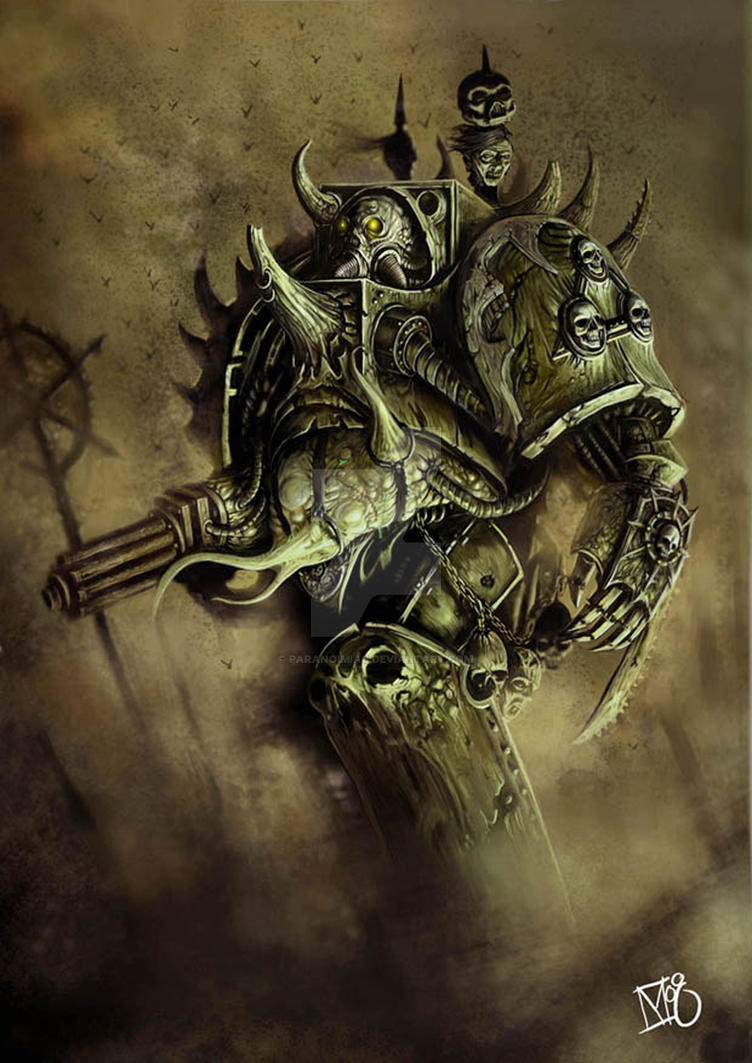 Plague Marine. by paranoimiac