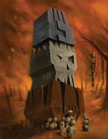 Totem of Gork by paranoimiac