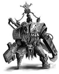 Ork Freebooter by paranoimiac
