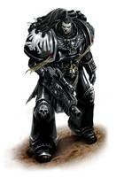Deathwatch Marine Captain. by paranoimiac