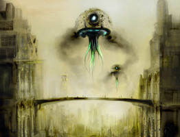 Jellyfish Dawn by paranoimiac