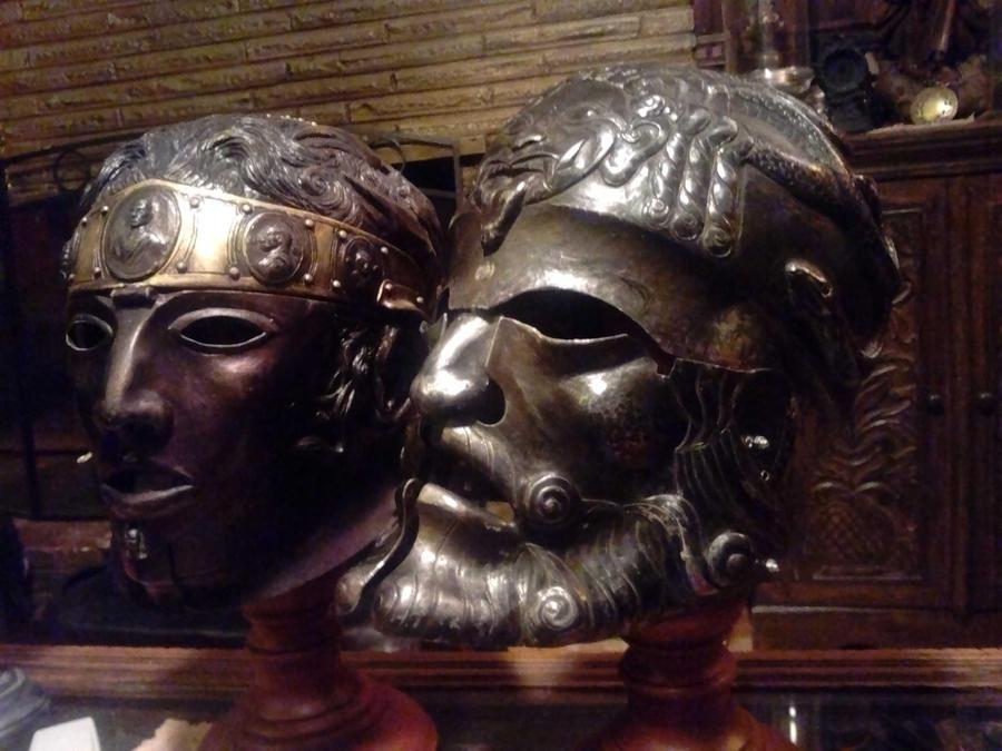 Ajax's helm 2 by Ugo-Serrano