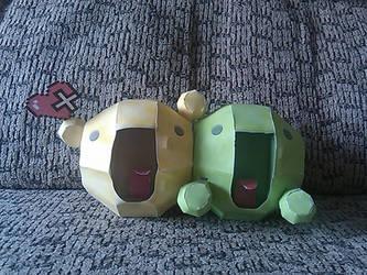 Paper la and dummy by Ameme-Jones