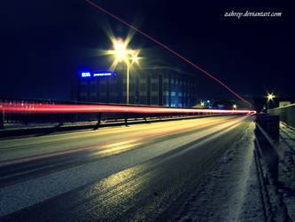 Snow and light by zahrey