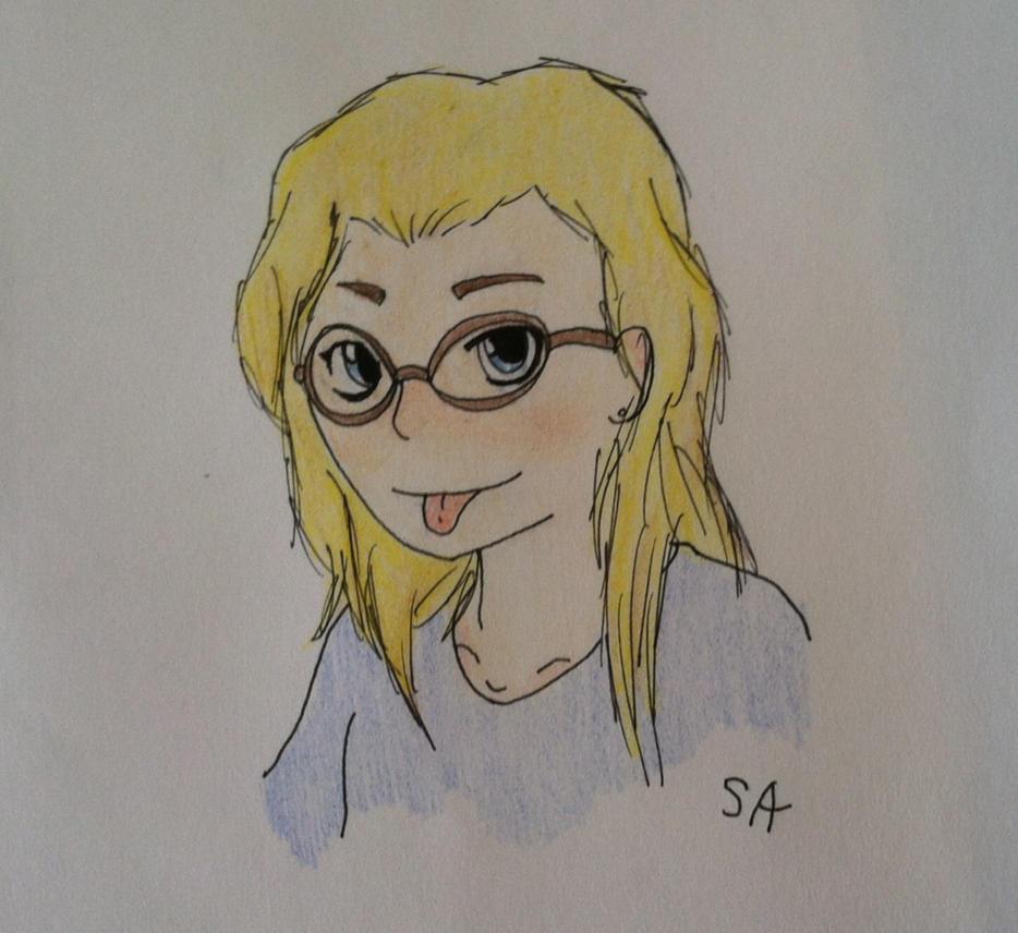 Self-Portrait by skylordamelia