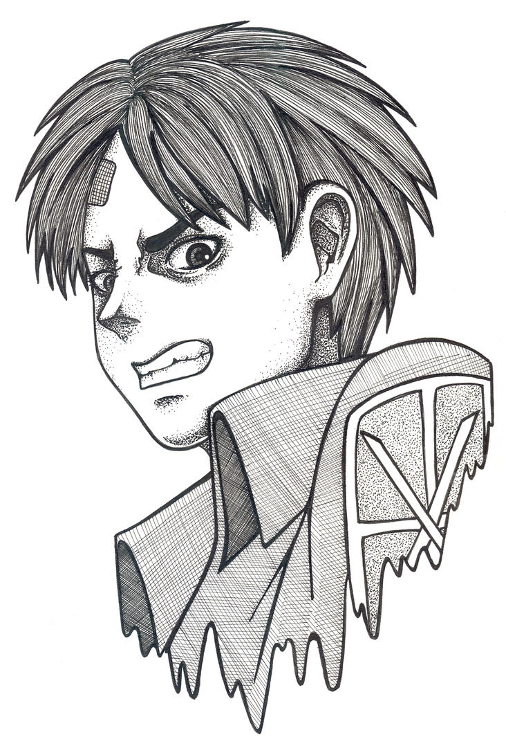 Eren Yeager by FaKe-Elf
