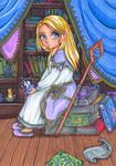 Little Lady Jaina Proudmoore by FaKe-Elf