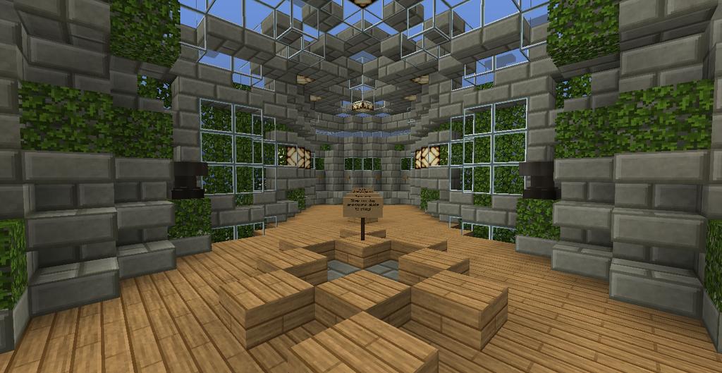 MC build Parkour Lobby