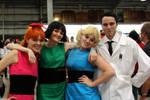 Powerpuff Girls and Professor