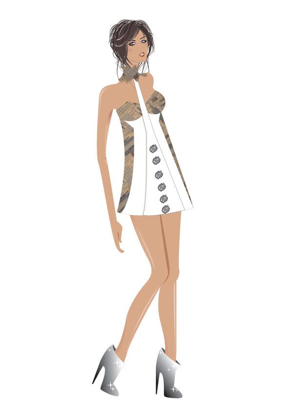 Runway Vector Sketch II,, by IVYangelica