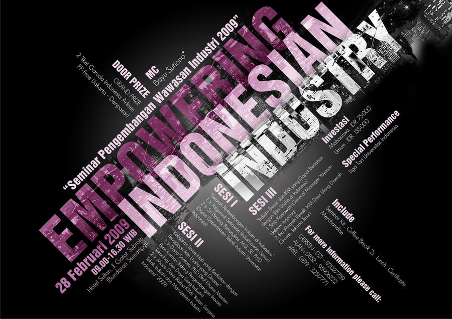 Empowering Indonesia Poster by IVYangelica