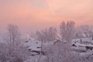 Frosty winter morning by NikolaEs