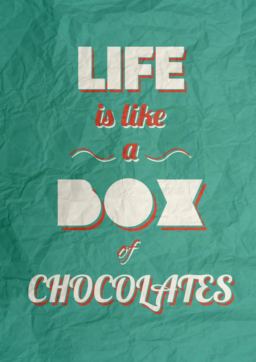 Box of Chocolates by Luke3dw