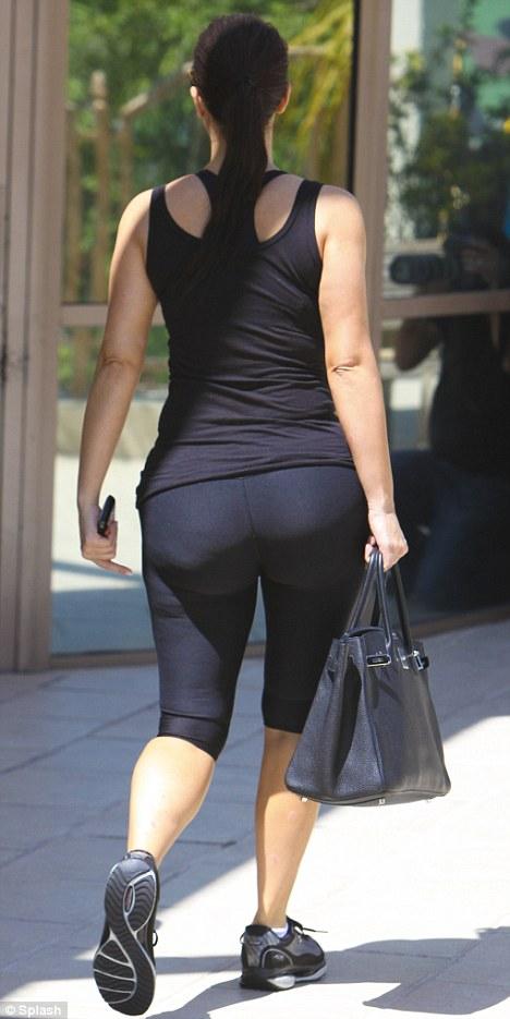 kim kardashian gym butt by montyisfat