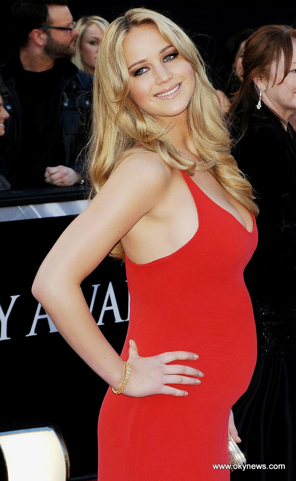 Jennifer Lawrence Pregnant Pregnant Jen by montyisfatJennifer Lawrence Pregnant