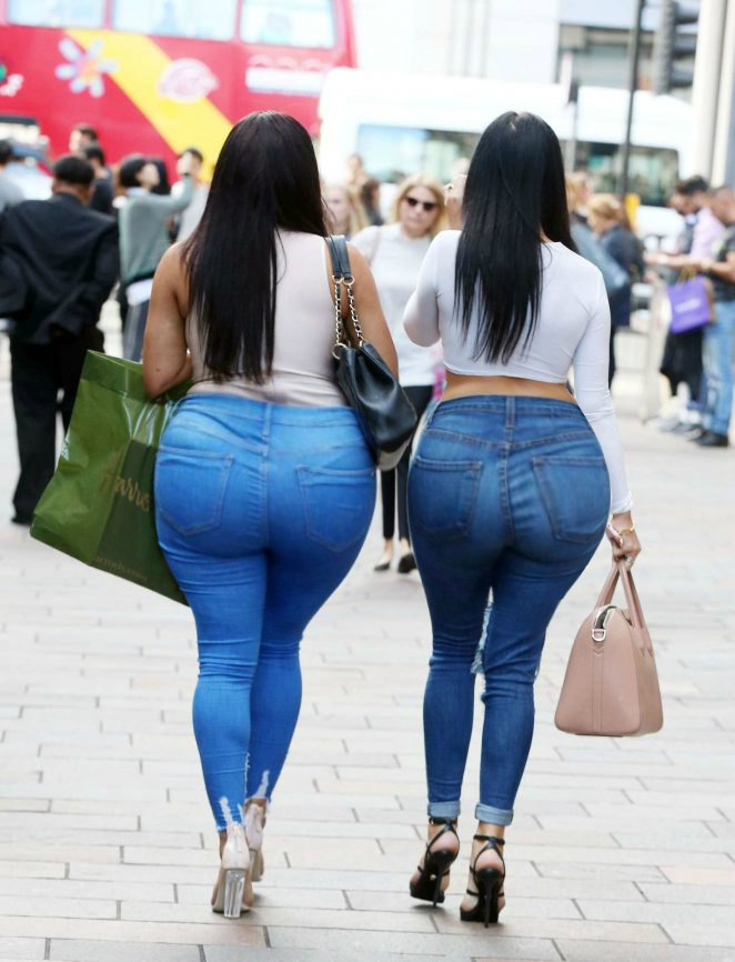 Big ass in tight jeans pics