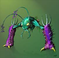 MDB Bestiary: Desgeega-X by Methuselah3000
