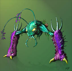 MDB Bestiary: Desgeega-X
