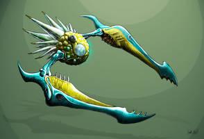 MDB Bestiary: Ice Shriekbat by Methuselah3000