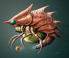 MDB Bestiary: Evir-X by Methuselah3000