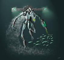 MDB Bestiary: Aqua Pirate by Methuselah3000