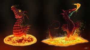 MDB Bestiary: Dragons by Methuselah3000