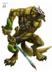 jungle warrior by AR3ASH