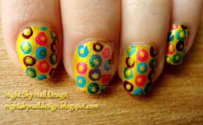 31 Day Challenge, Day 3: Yellow Nails