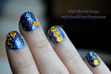 31 Day Challenge, Day 5: Blue Nails