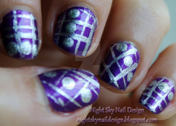 31 Day Challenge, Day 5: Purple Nails