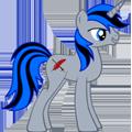 Ponyard Kipling by rebelfury
