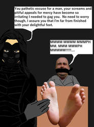 The Cruel Tickler by artgod130