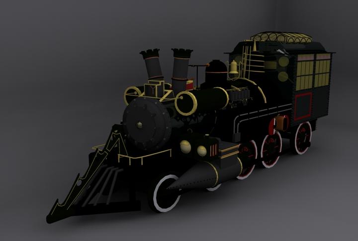 Back To The Future Train By Leoncillo On DeviantArt