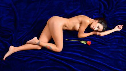 Naomi Serrano - Blue Velvet by SwiftCreekPhotos