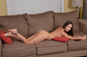 Naomi Serrano - Sofa  by SwiftCreekPhotos