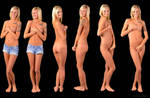 ENF - Embarrased Nude Female by SwiftCreekPhotos