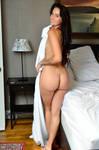 Alisha-Marie - Holding a Sheet